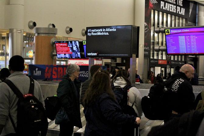 Atlanta Airport Verizon Ad