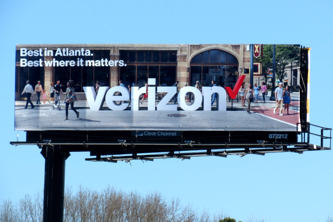 Atlanta Verizon Billboard
