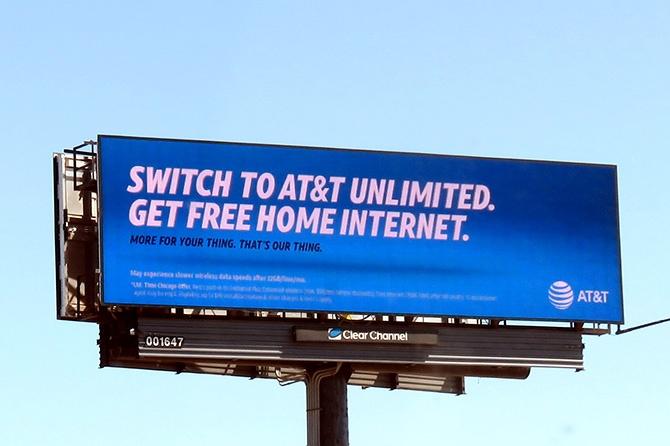 AT&T Digital Billboard