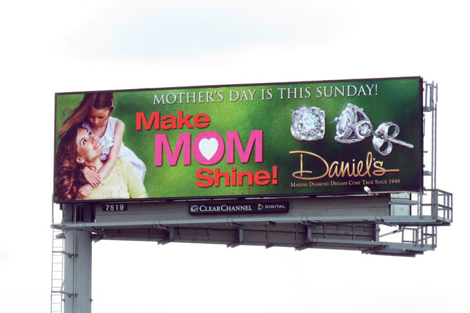 Daniels-Jewelers-Mothers-Day-Digital-Billboard