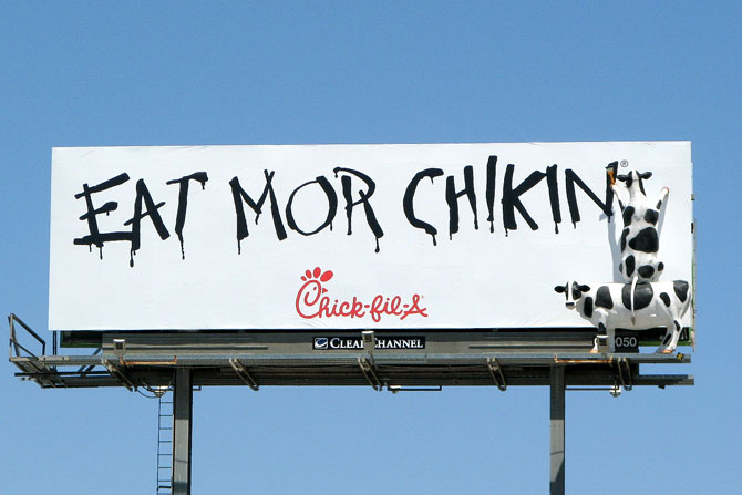 Chick-fil-A-Eat-Mor-Chikin-Billboard