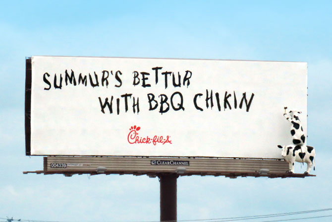 Chick-fil-A-Summer-billboard