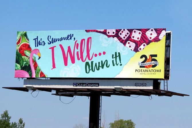 Potawatomi Billboard