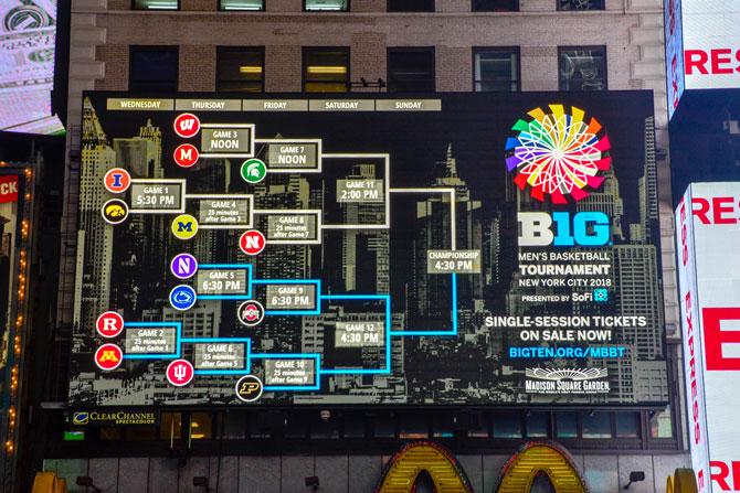 Big-Ten-Basketball-Brackets Times-Square
