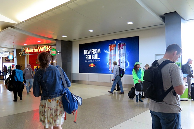 Red Bull SeaTac Airport Ad