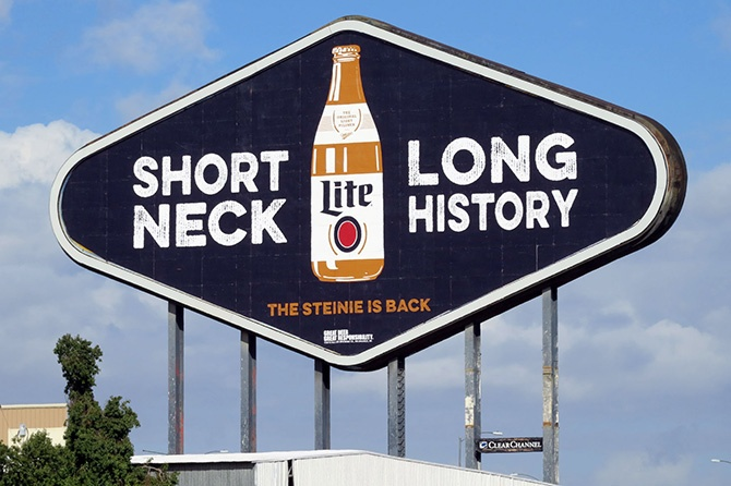 2015 Miller Lite Diamond Billboard Phoenix