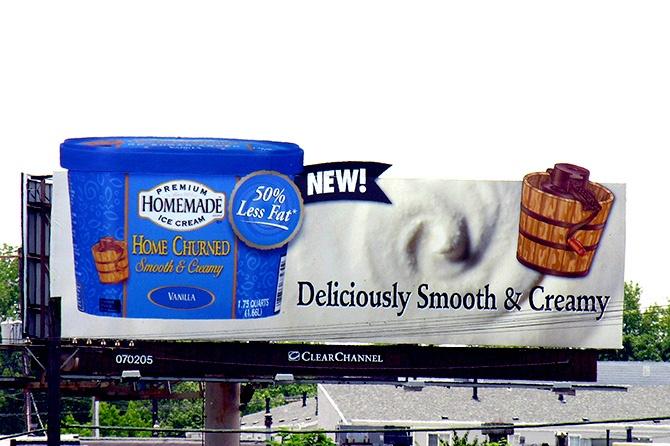 United Dairy Farmers Ice Cream Billboard
