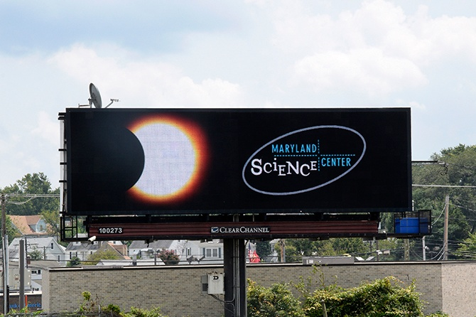Maryland Science Center Eclipse Digital