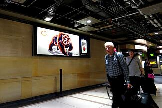 MillerCoors Chicago Bears Metra Ad