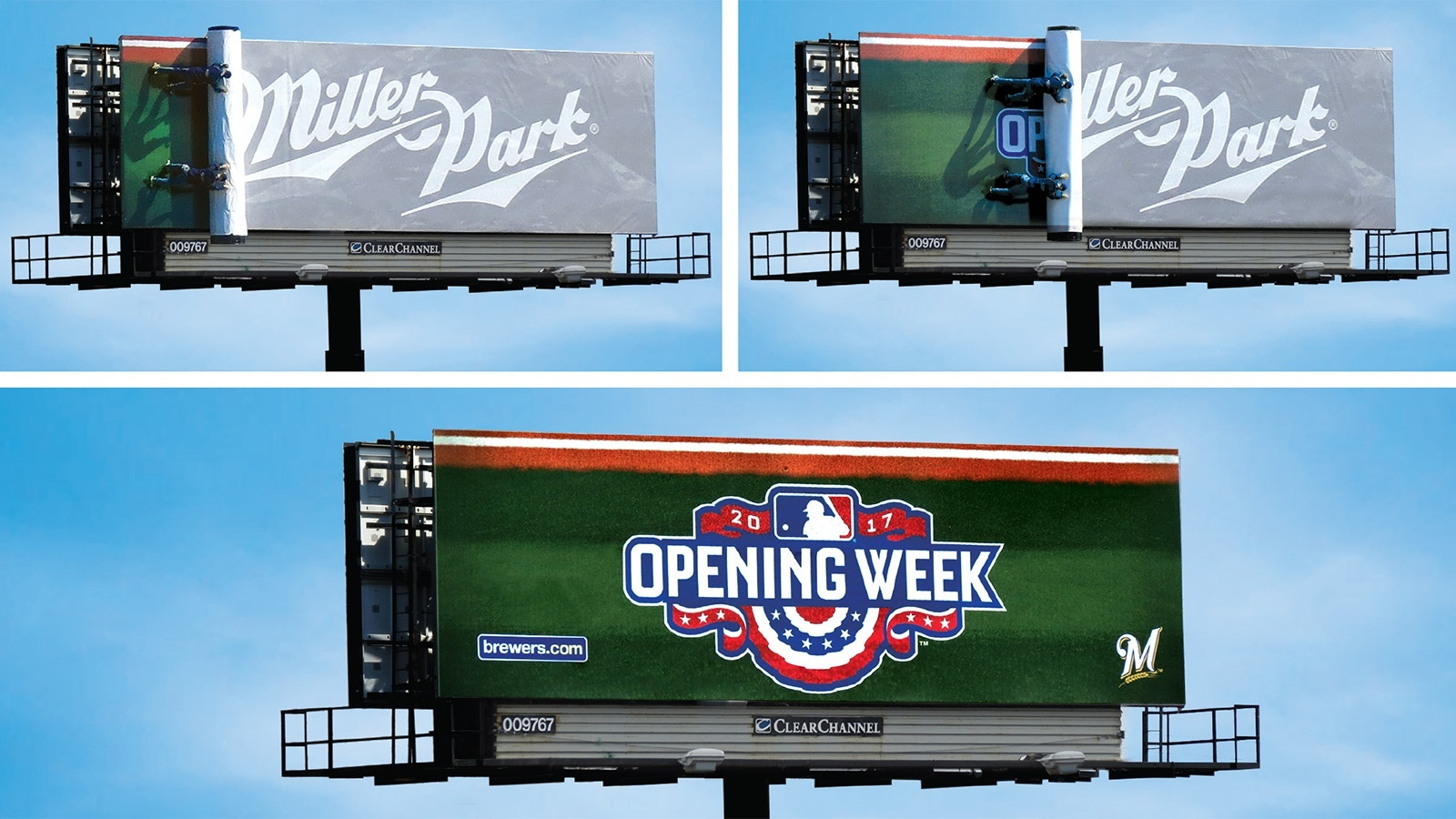 Milwaukee Brewers Tease-Reveal Campaign