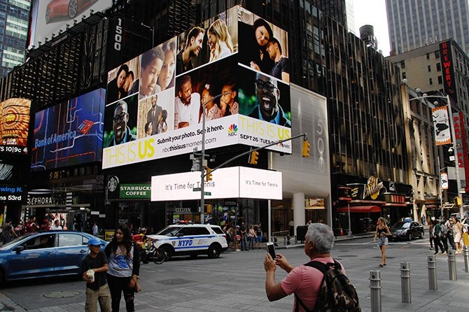 NBC This is Us-Share your Moment-Times Square Ad