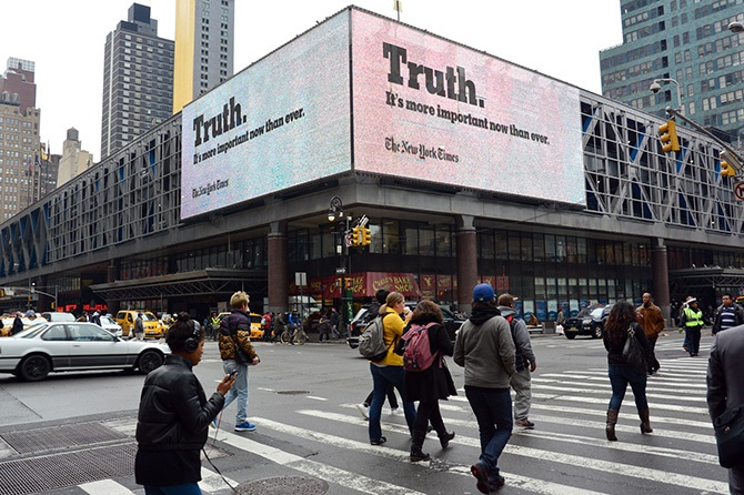 New York Times Truth Campaign