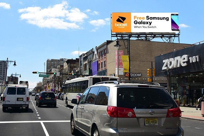 Boost Mobile New York Billboard