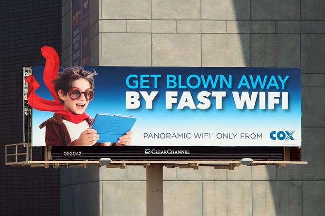 Cox Wifi Billboard