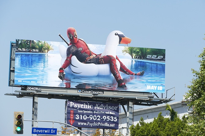 DeadPool 2 Floaty Billboard