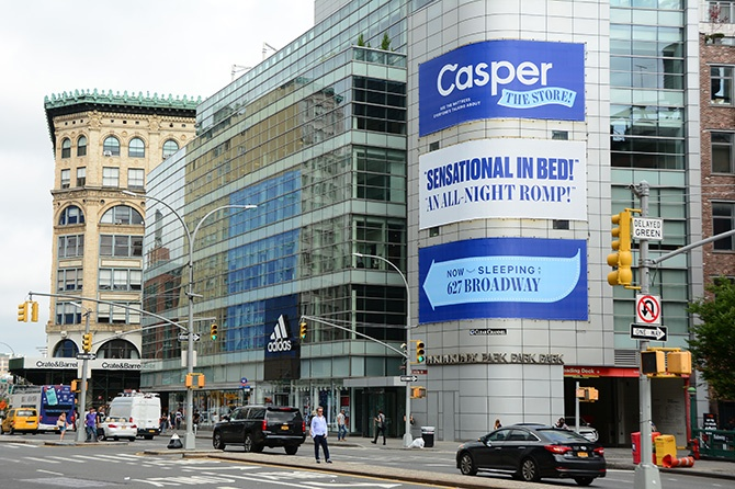 Casper Soho Stacked Billboard