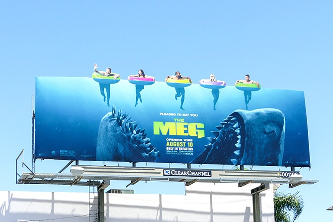 The Meg Billboard