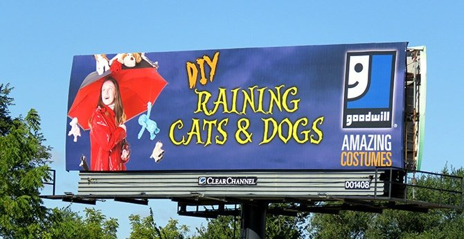 Goodwill Costumes Billboard