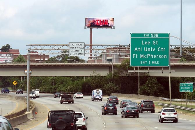 Atlanta Super Bowl LIII Host Committee Digital Billboard