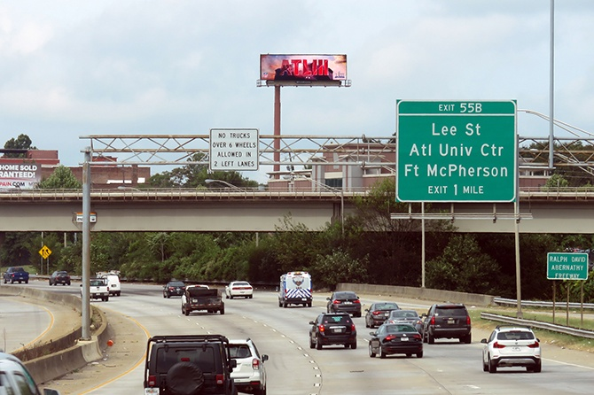 Atlanta Super Bowl LIII Host Committee Digital Billboard