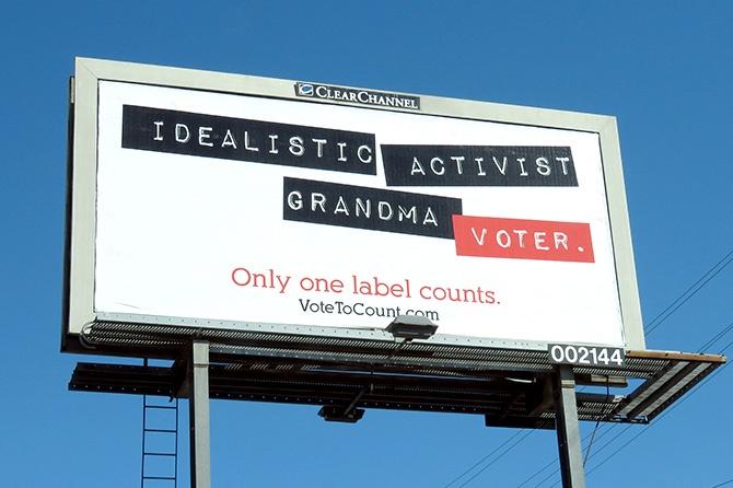 OAAA Only one label counts billboard