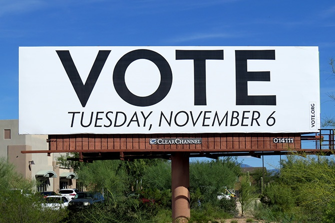 Vote.org Tucson Billboard