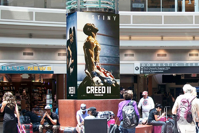 CREED 2 Promo in Atlanta Airport-1