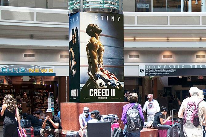 CREED 2 Promo in Atlanta Airport-1