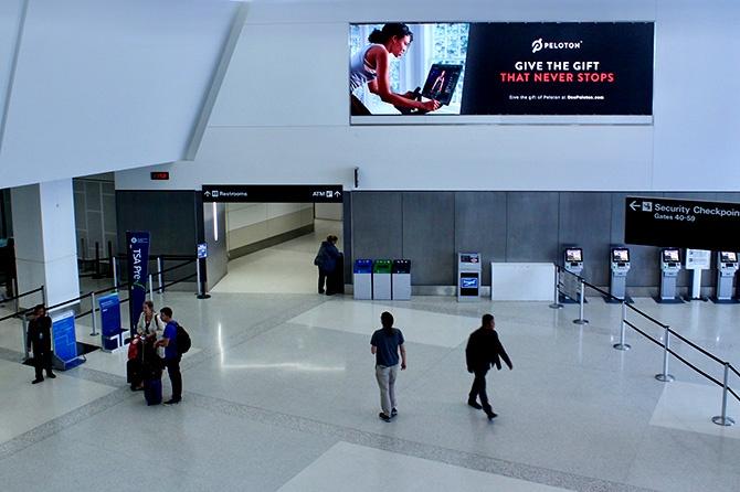 Peloton SFO Airport Ad-1