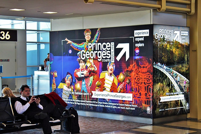 Prince George's County Tourism Reagan Airport Ad-1