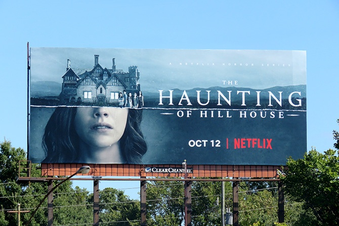 Haunting of Hill House Billboard