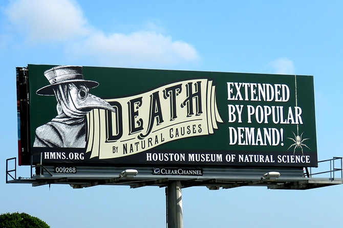 Houston Museum of Natural Science Death Exhibit