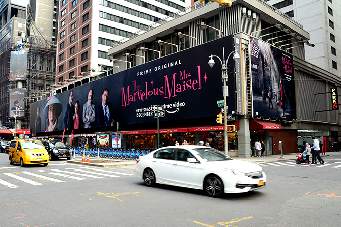 Marvelous Mrs. Maisel Season 2 Times Square