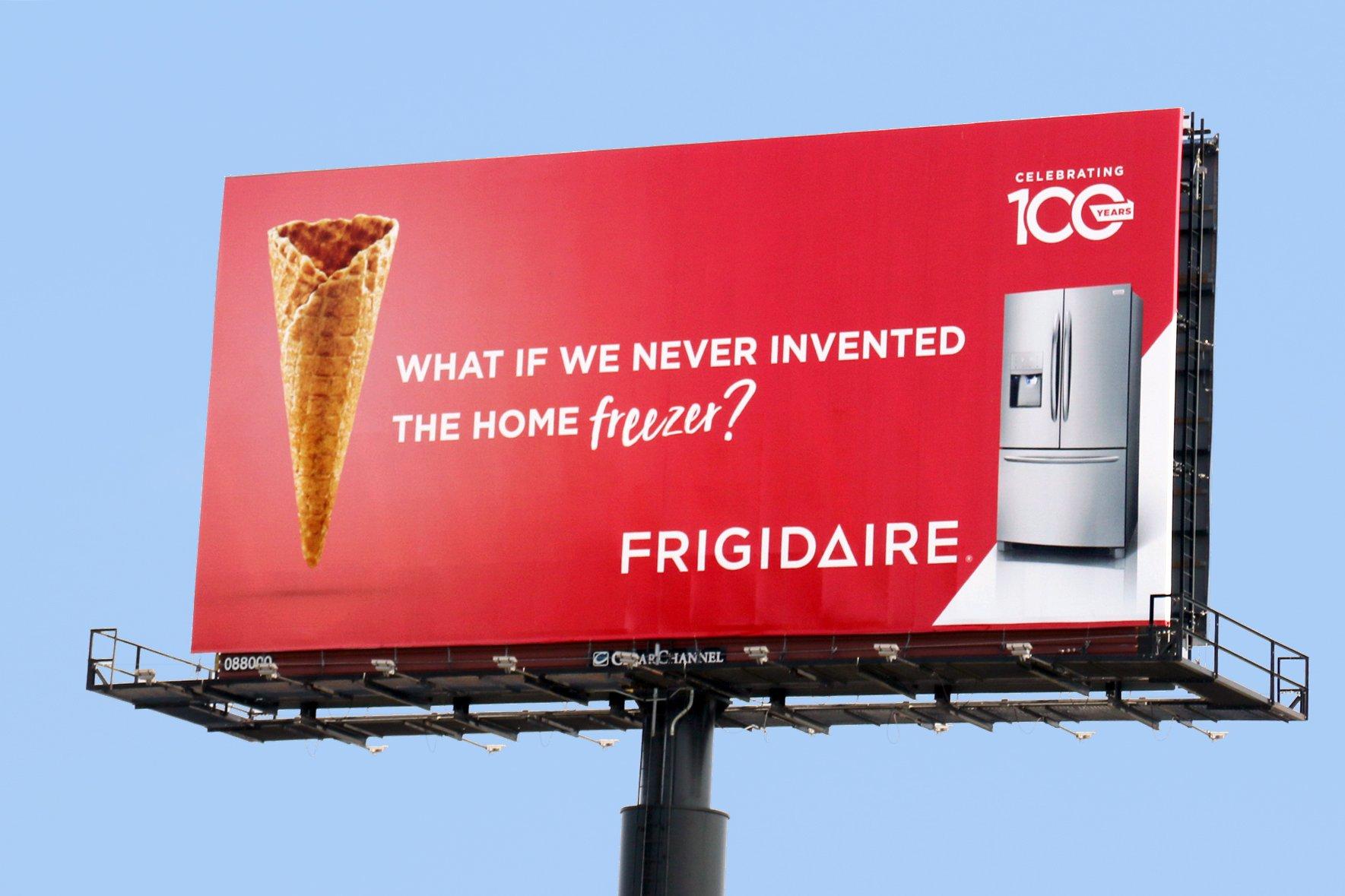 Frigidaire 100 Year Anniversary Billboard