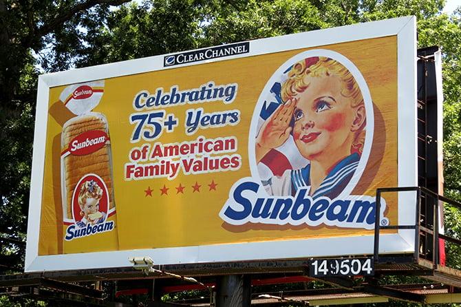 Sunbeam Toasts 75 Years with Billboard