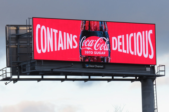 Coca-Cola Digital Bullboard Sans Serif Font