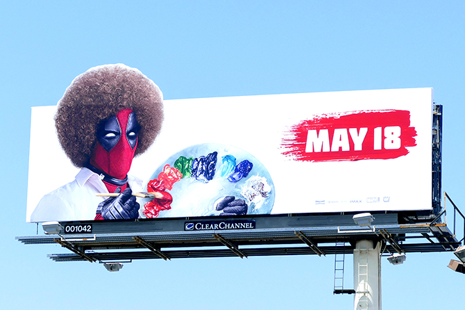 Dead Pool 2 Movie Billboard