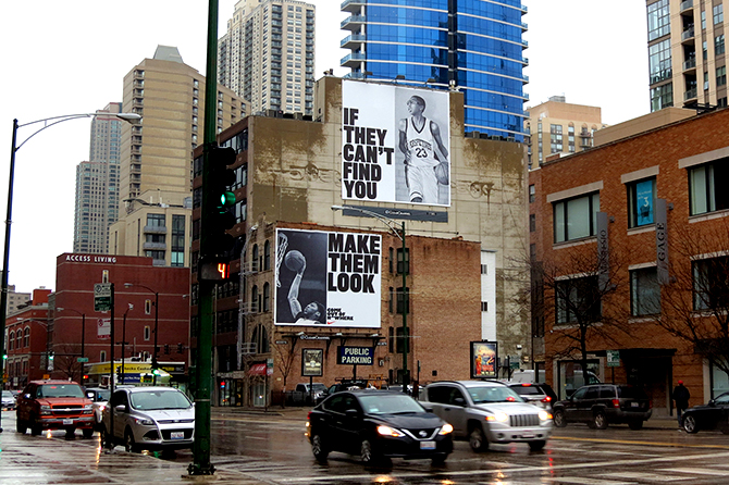Nike Billboard and Wallscape Sans Serif Font