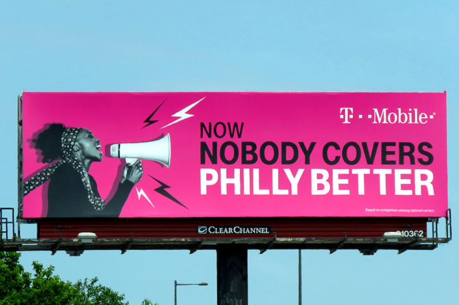 T-Mobile Local Billboard