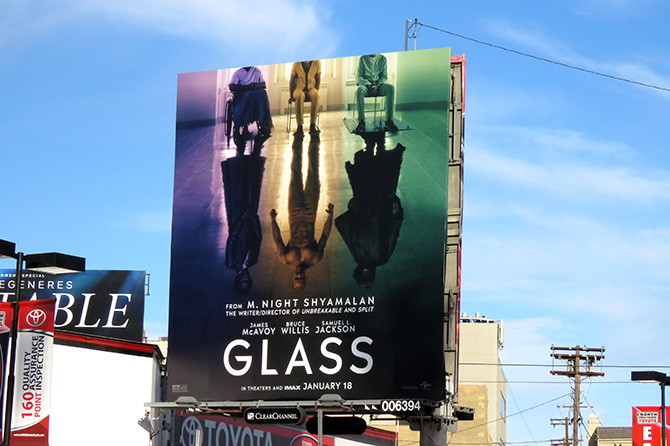 Universal Pictures Glass Billboard