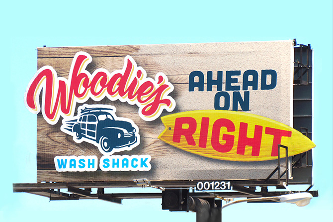 Woodies Wash Shack Premiere Panel