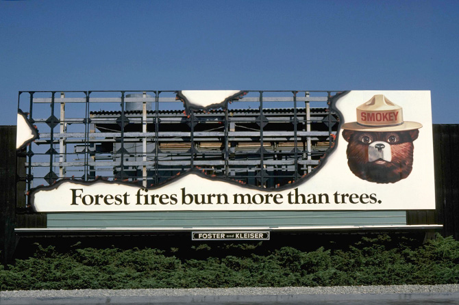 1970s Ad Council Smokey Bear Ad