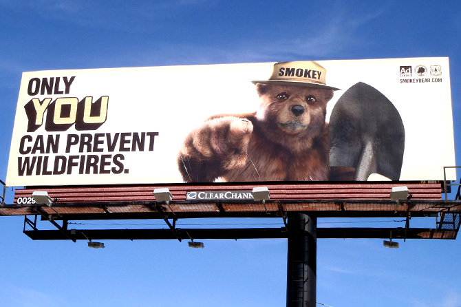 2012 Ad Council Smokey Bear Ad