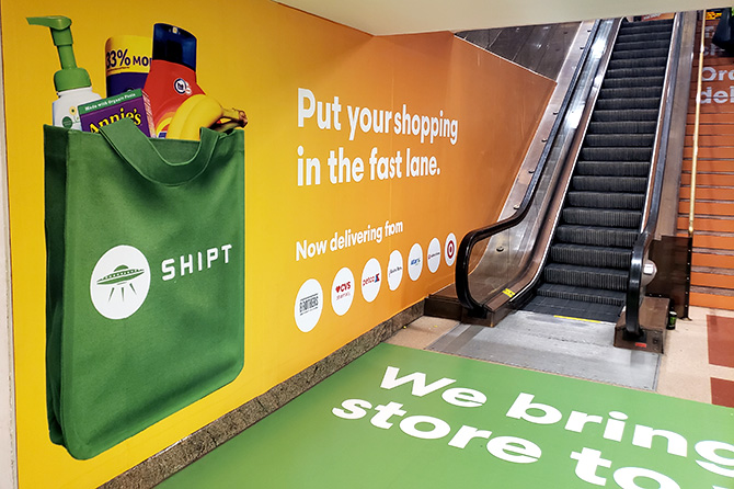 Shipt Domination in Boston South Station
