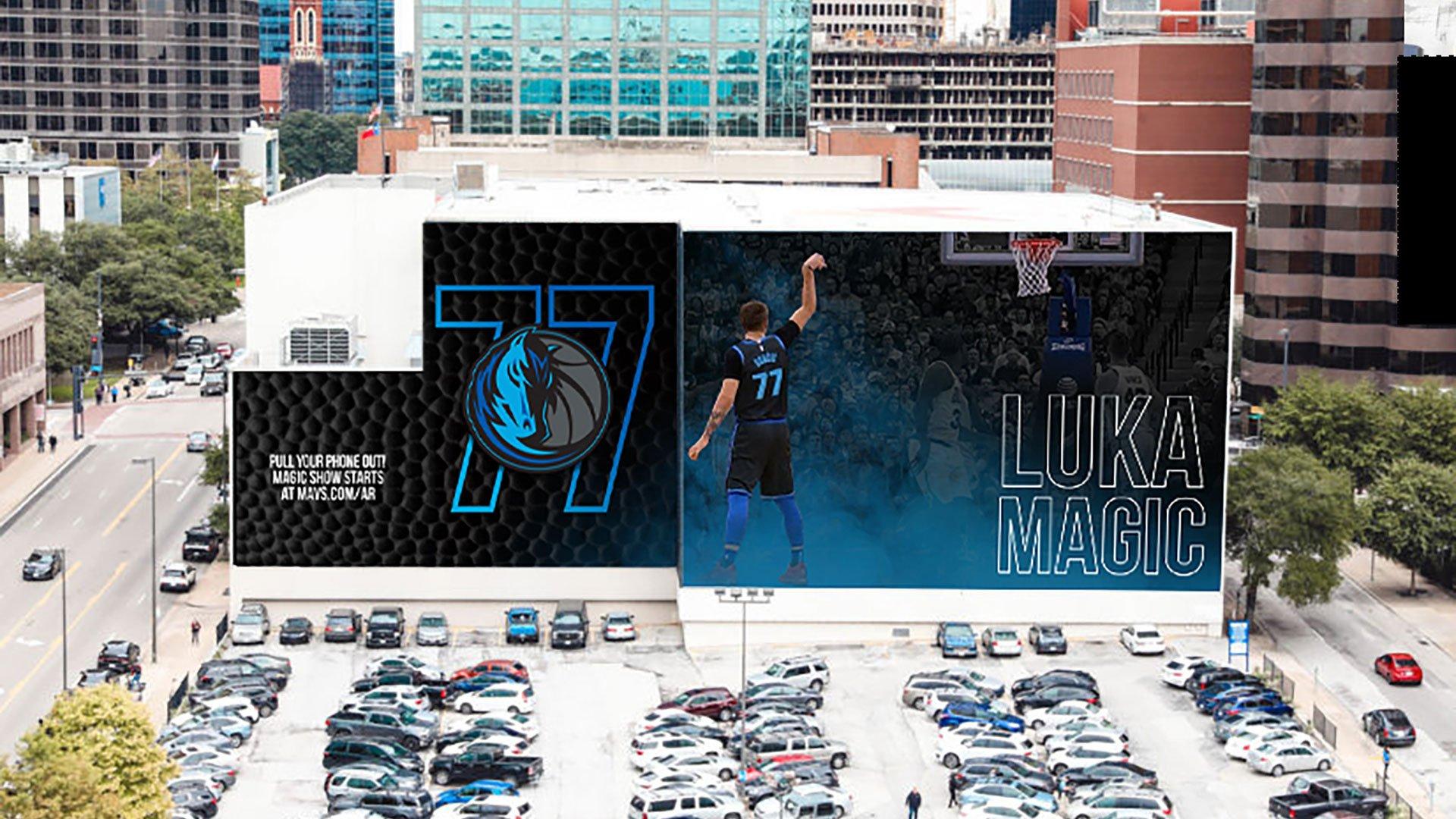 Dallas Mavericks - Luka Magic Mural