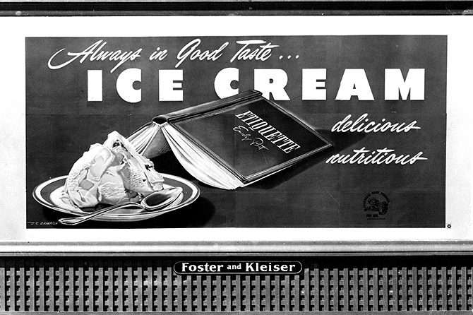 CA Dairy Products 1948 Billboard
