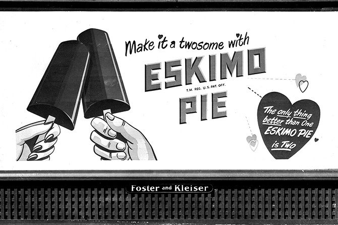 Eskimo Pie Billboard 1951