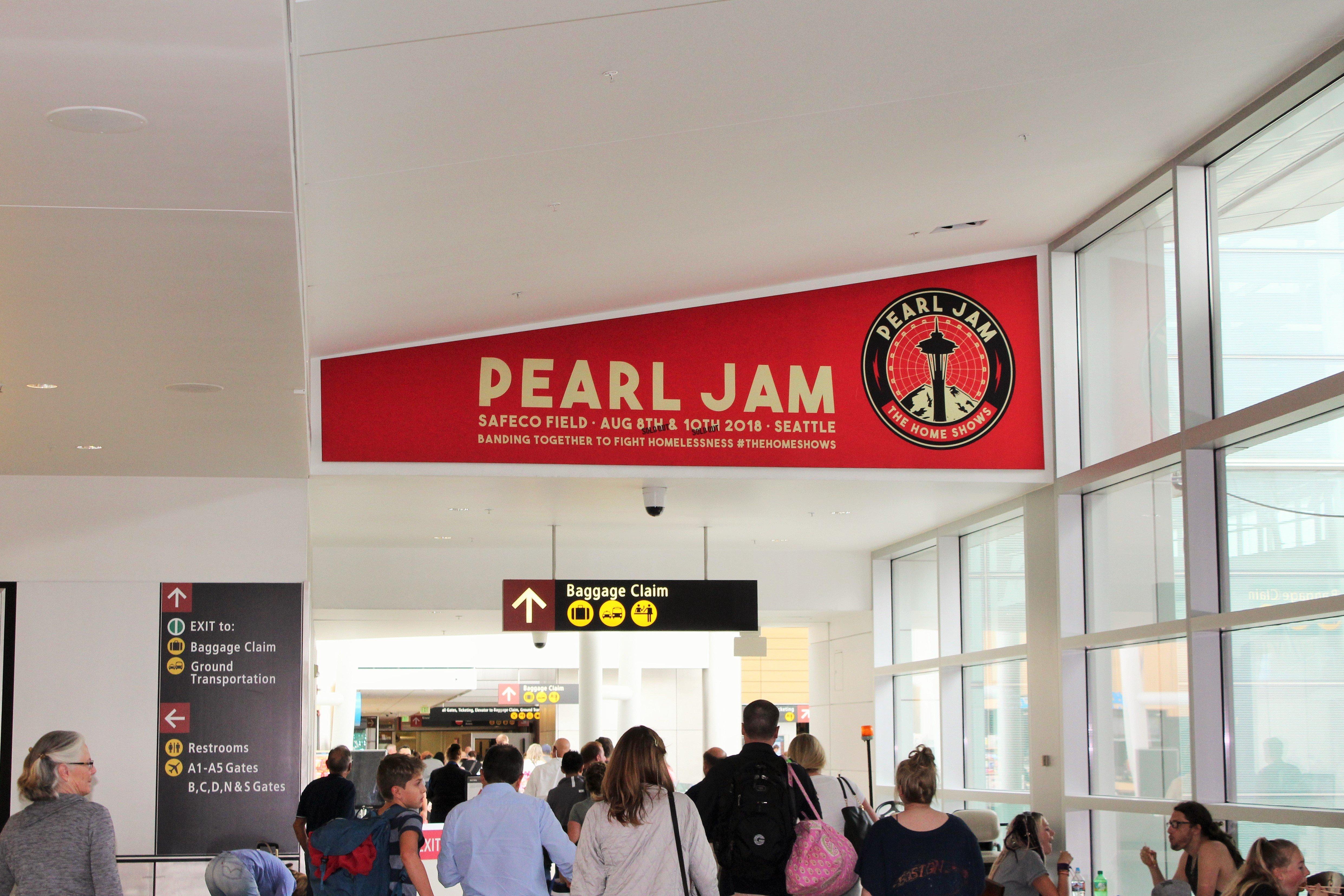 Pearl Jam-concourse