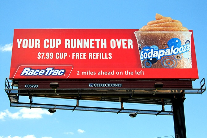 RaceTrac Billboard