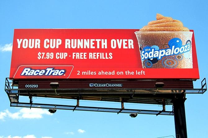 RaceTrac Billboard